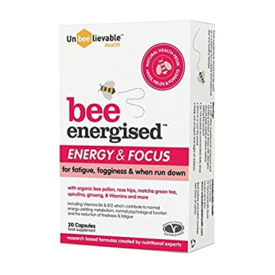 Bee Prepared Energised Energy and Focus Supplement, Pack of 20