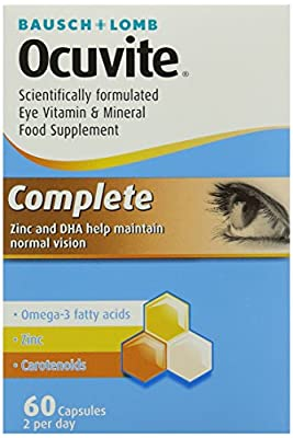 Ocuvite Eye Supplement Complete 60 Capsules